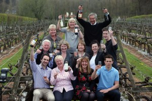 Some of Wales' wine producers