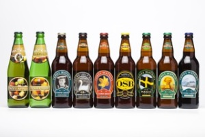 Premier Ale among Tomos Watkin's products
