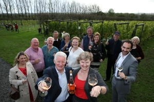Welsh vineyard owners gather for the Awards